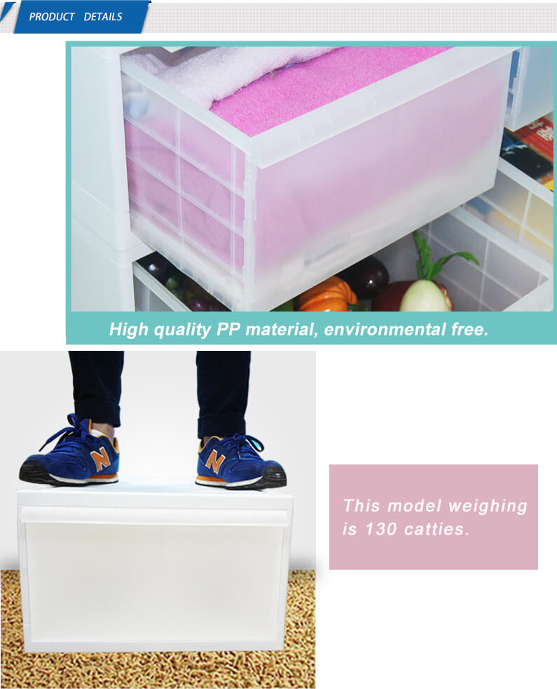 Waterproof Garden Folding Car Tool Box With Lid Storage Cabinet