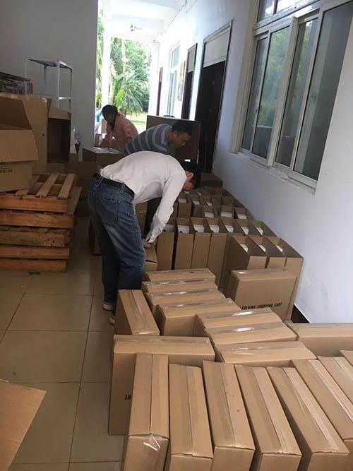 Taiwan customers 5000PCS shopping cart shipment