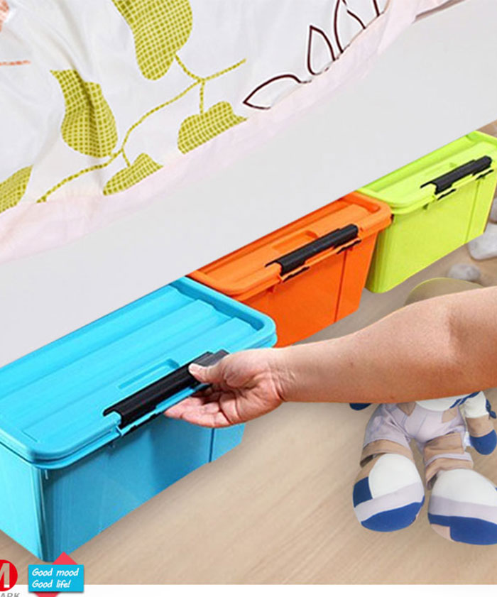 Resistant Book File Cloths Living Room Bedroom Plastic Storage Box
