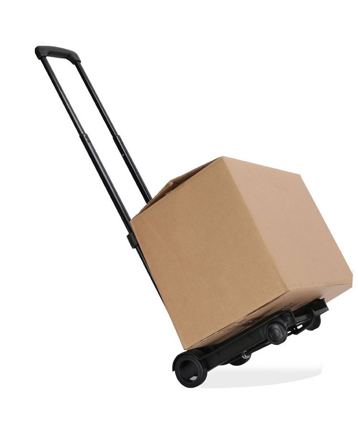 Wholesale Rolling Personal Aluminum Luggage Grocery Cart