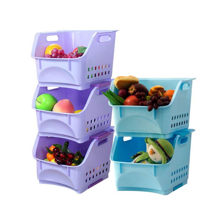 Custom Washing Appliances Laundry Bathroom Plastic Storage Basket