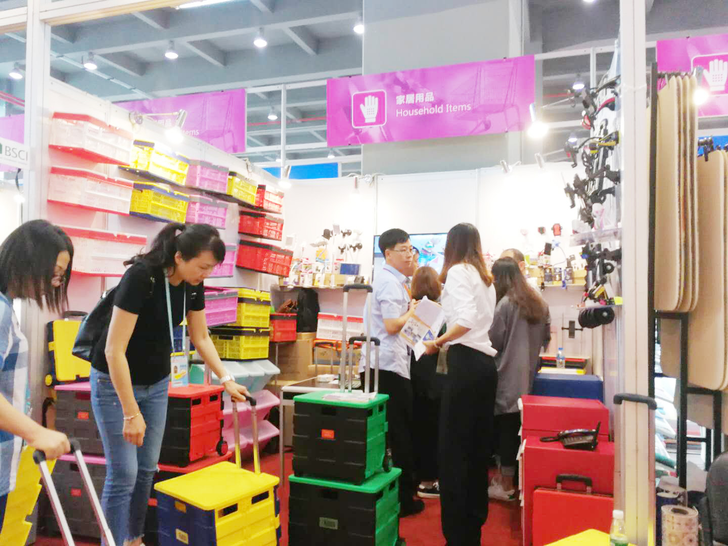 JieMa Home Storage Participated In 2019 Canton Fair