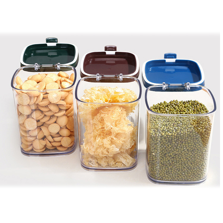Stackable Transparent Easy Seal Food Container