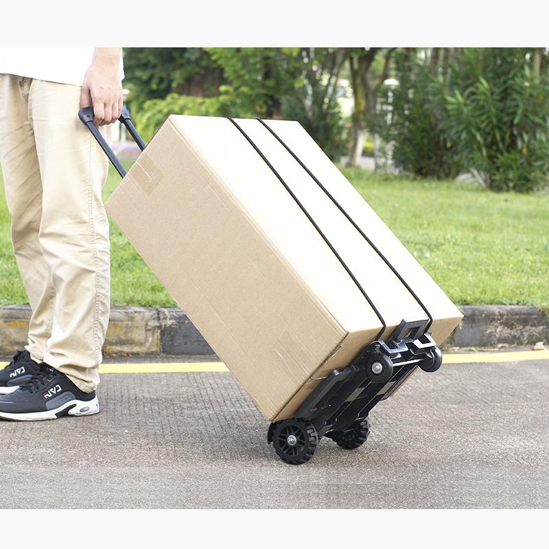 4 Wheels Heavy Duty Portable Foldable Luggage Cart