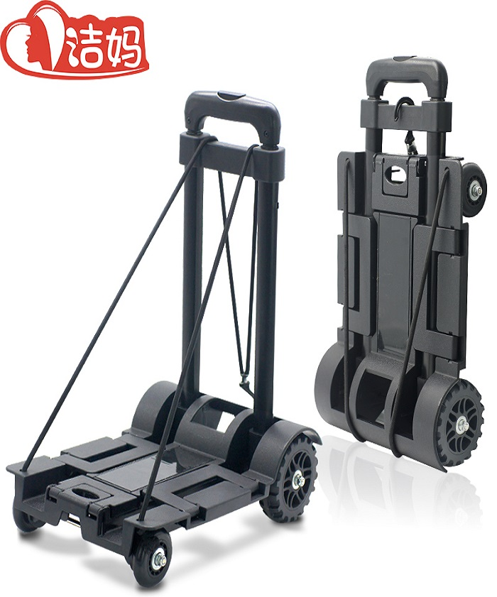 4 Wheels Heavy Duty Portable Foldable Luggage Cart