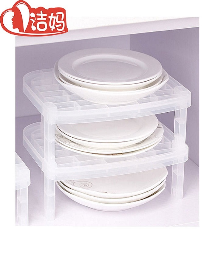 Kitchen Plastic Dryer Dish Plate Bowl Storage Rack
