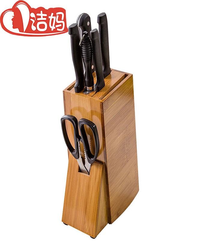 Multifunction Bamboo Knife holder