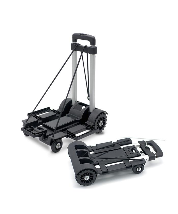 Plastic Roll Cart Outdoor Folding  Garden Handle Supermarket Office Beach Trolley Cart