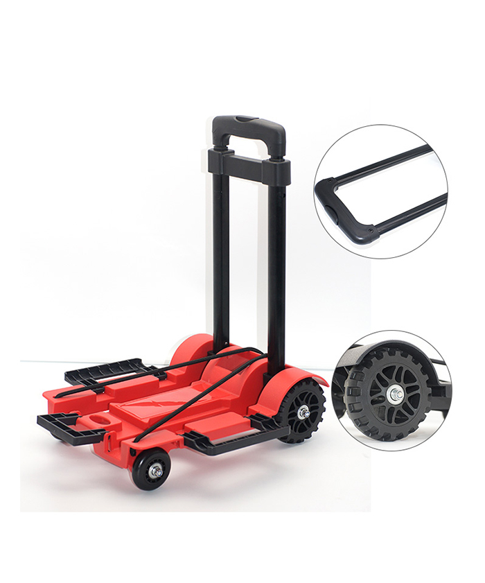 Luggage Plain Transport Plastic Beach Cart Foldable Folding Trolley Cart