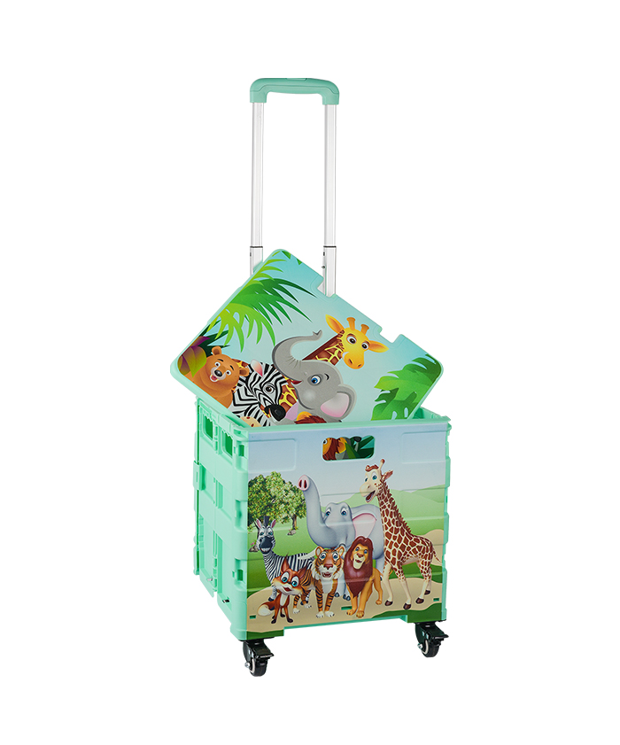 Four Wheel Shopping Trolley Customized Manufacturer