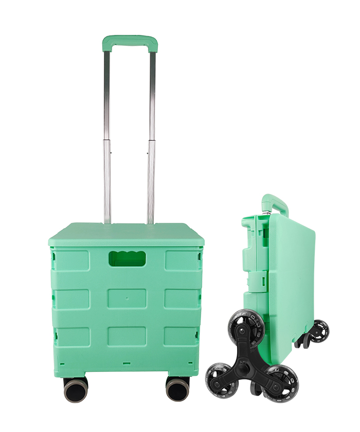 Wholesale Climb Stairs Trolley Supermarket Park 8 Wheel Heavy Collapsible Home Foldable Cart